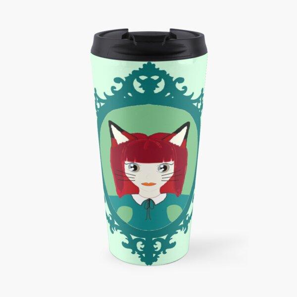 Kawaii Fox Cosplay Girl Travel Mug