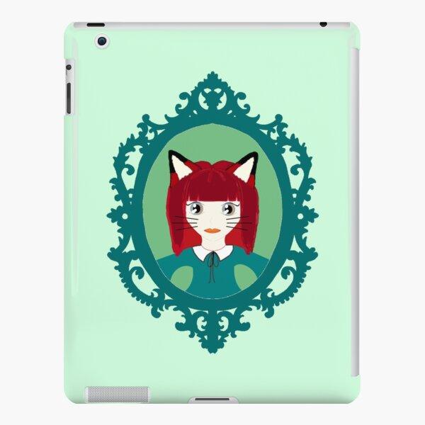 Kawaii Fox Cosplay Girl iPad Snap Case