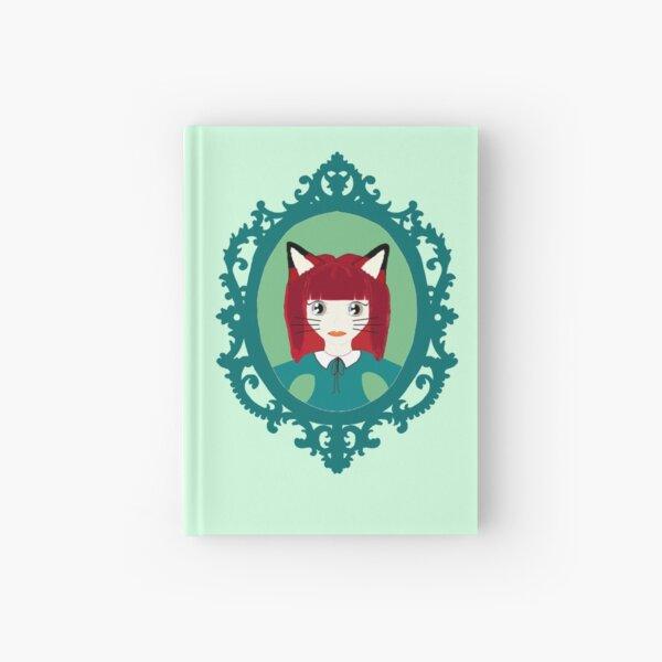 Kawaii Fox Cosplay Girl Hardcover Journal