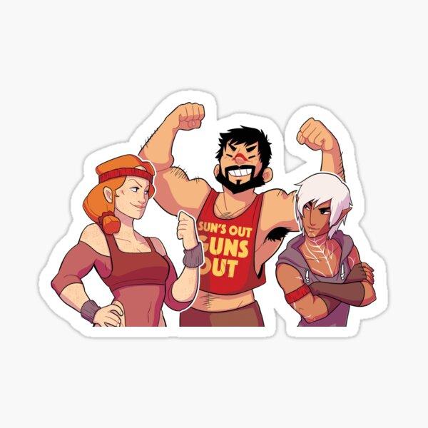 DA2 Warriors Sticker