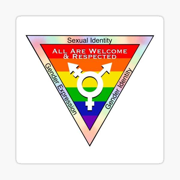 All Are Welcome & Respected  - Lgbtqia+ Friendly Establishment Sticker
