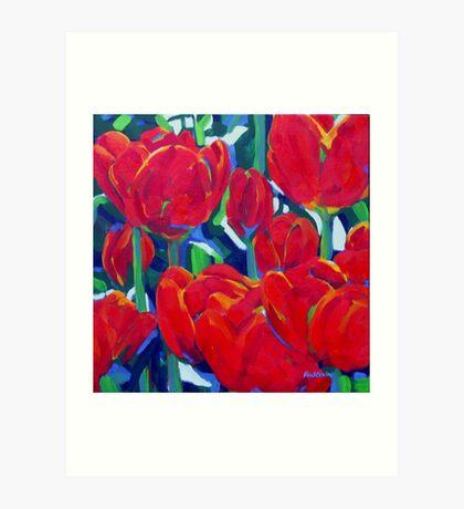 Floriade Art Print