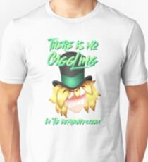 There's no giggling in the depravity ocean! Unisex T-Shirt