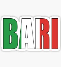 Bari. Sticker