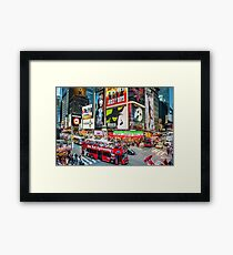 Times Square II Special Edition II Framed Print