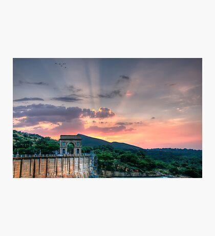 Heaven's Bridge Photographic Print