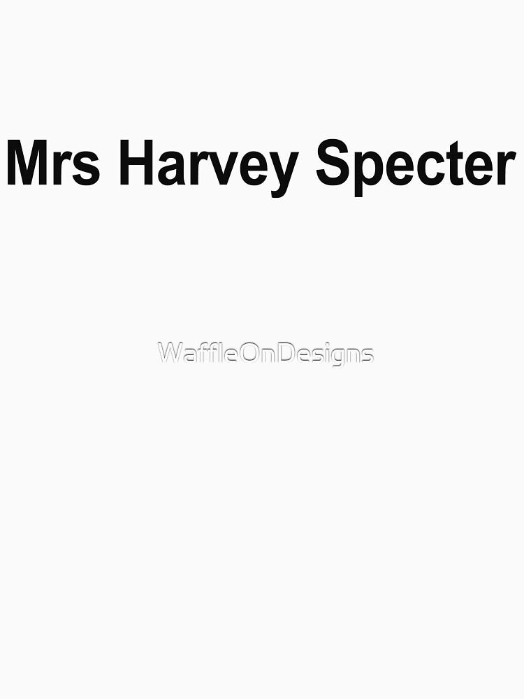 Mrs Harvey Specter. by WaffleOnDesigns