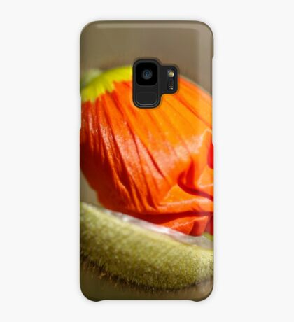 Poppies take off their coats in the sun Case/Skin for Samsung Galaxy