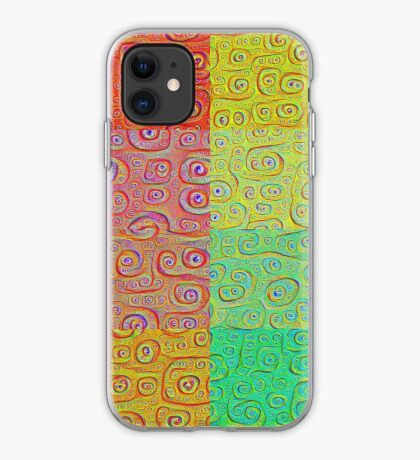 Deep Dreaming of a Color World 2 iPhone Case