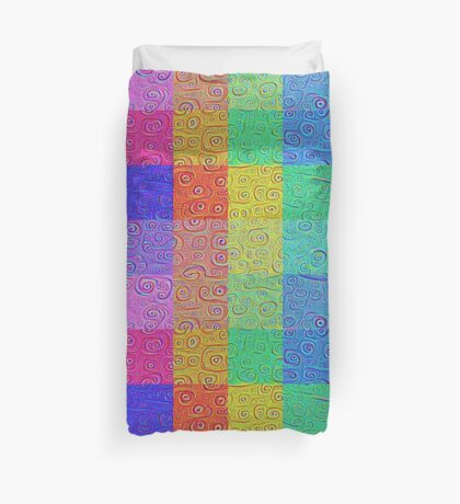 Deep Dreaming of a Color World 2 Duvet Cover