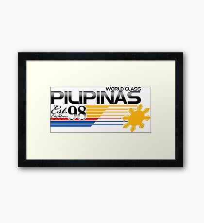 Pilipinas World Class Framed Print