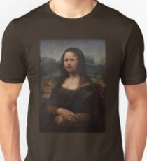 The Moaning Lisa (Karl Pilkington) T-Shirt