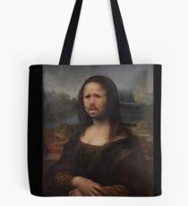 The Moaning Lisa (Karl Pilkington) Tote Bag