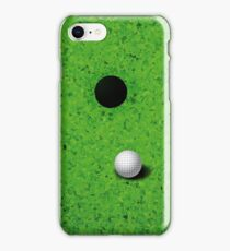 Playing Golf  iPhone Case/Skin