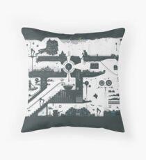 Vector Doodle 12 (Updated) Throw Pillow