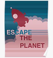 Escape the Planet  Poster