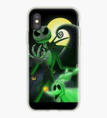 Nightmare Before Christmas Skellington iPhone Case