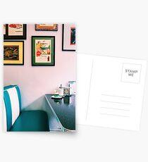 American Diner Postkarten