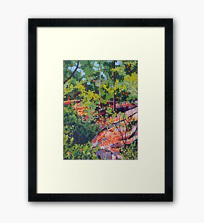 Hillside XXVII Framed Print