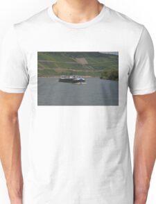 Rhine Barge Wertheim Unisex T-Shirt