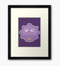 Cute Koffing - Pokemon Framed Print