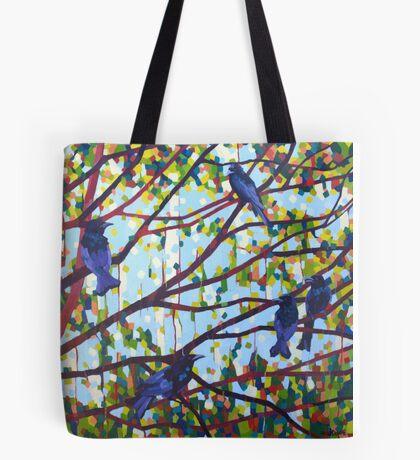 Spangled Drongos Tote Bag