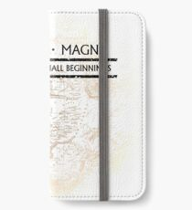 Uncharted - SIC PARVIS MAGNA iPhone Wallet/Case/Skin