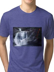 Top End of Josephine Falls, FNQ, AU Tri-blend T-Shirt
