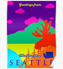 Seattle. Poster