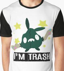I'm Trubbish Trash Graphic T-Shirt