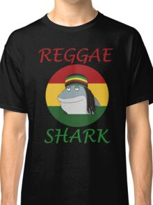 Reggae Shark Dreadlock Classic T-Shirt