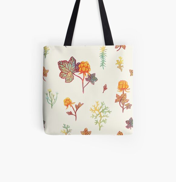 Cloudberry All Over Print Tote Bag