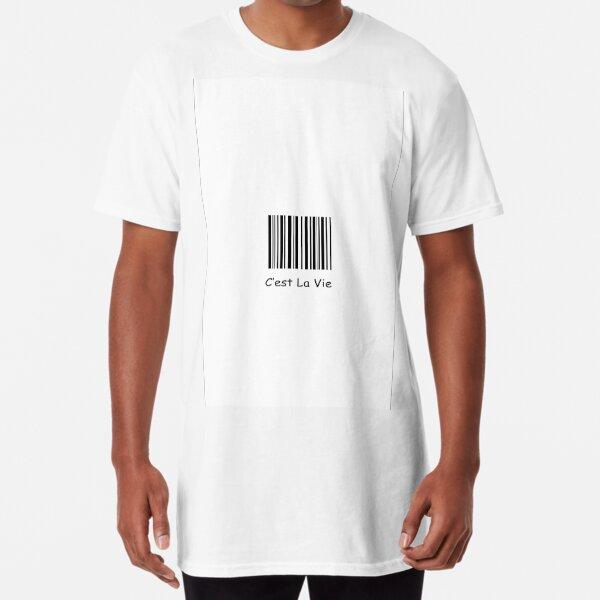 cest la vie así es la vida Camiseta larga