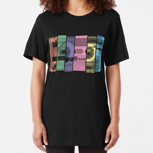 Mix Tape 1.0 Slim Fit T-Shirt