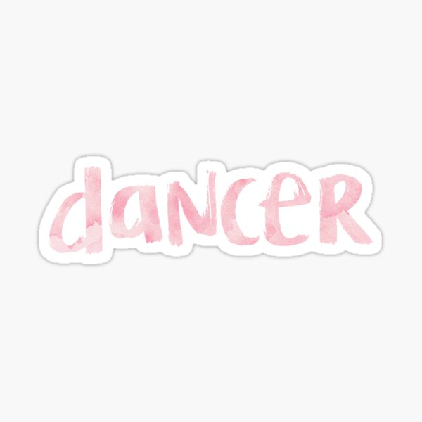 Dancer Sticker