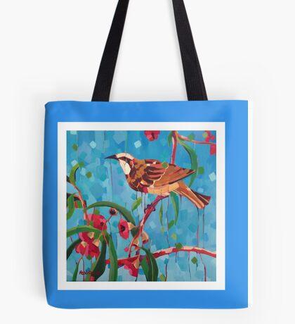 Tawny Crowned Honeyeater Tote Bag