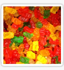 colorful sweet tooth foodie candy gummy bear  Sticker