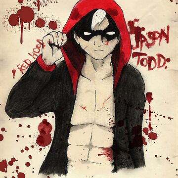 Jason Todd - Red Hood by PantherLilyz
