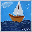 bateau caramel by AgnesZirini