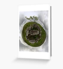 Tomb: Croaghbeg Court Tomb, Shalwy Valley, Donegal Greeting Card