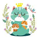 Queen cat by mjdaluz