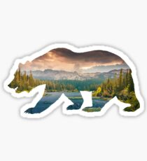 Bear Love Sticker