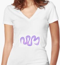 WIRE Women's Fitted V-Neck T-Shirt