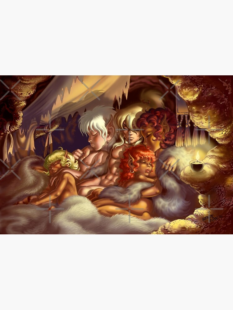 True Peace (poster and prints) by elfquest