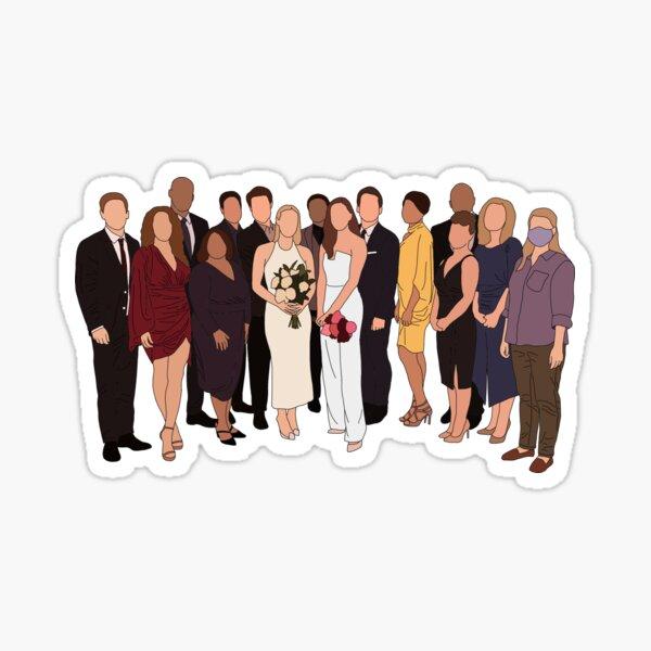 Station 19 cast Sticker