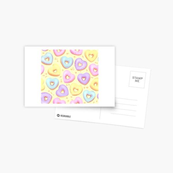 I Heart Donuts! Postcard