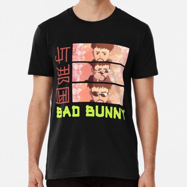 Fan de Bad Bunny, Yonaguni Bad Bunny Reggaeton, Bad Bunny, YHLQMDLG, Conejo Malo Camiseta premium