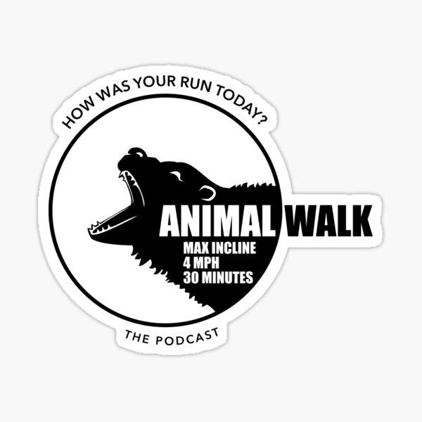 ANIMAL WALK Sticker