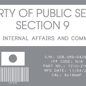 Property of Section 9 by xebec