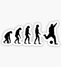 Evolved to play Soccer Sticker
